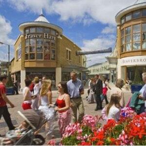 """השקעות נדל""""ן באנגליה-Two Centres-מרכז קניות"""