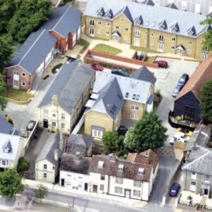 """השקעות נדל""""ן באנגליה Kings Court, Stamford Yard- מגורים"""